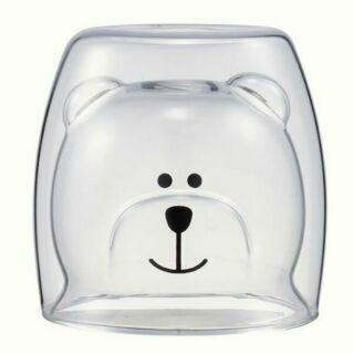 **現貨熱賣中**Starbucks 星巴克 Bearista 雙層玻璃杯 2017 19周年慶限定 倒立 熊 水杯