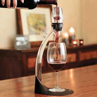 美國 Vinturi Red Wine Aerator Tower Set紅酒醒酒器 座架組