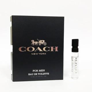 COACH時尚經典男性淡香水針管