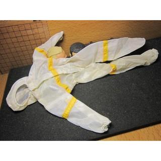 SJ5特殊部門 1/6太空人連帽網狀透氣連身內襯衣一件