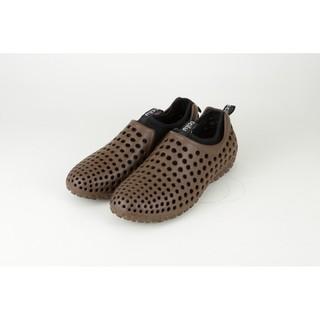 *波士頓倉庫*日本馳綠Ccilu AMAZON SUMMER 懶人鞋 洞洞鞋 膠鞋 可拆鞋套 男 棕+黑 特價990