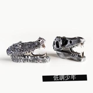 北歐 風格 玩意生活 恐龍 鰐魚 造型 金屬質感 除釘器 紙鎮 起釘器 辦公室 小物 裝飾 侏羅紀公園