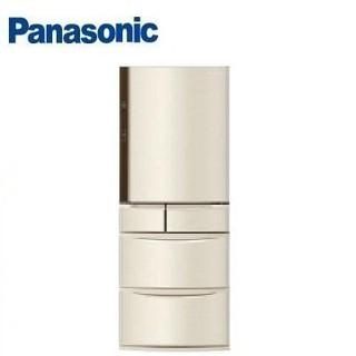 【Panasonic國際】411公升旗艦ECONAVI五門變頻冰箱 NR-E412VT-N1(香檳金) W1(晶鑽白)