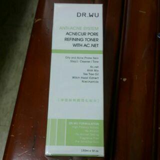 DR.WU淨痘粉刺調理化妝水150ml