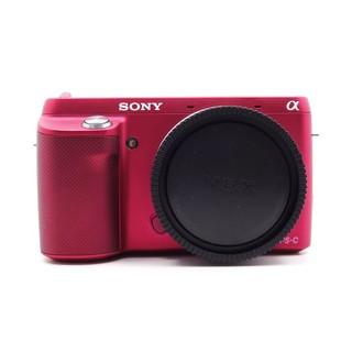【台中青蘋果3C】Sony NEX F3 NEX-F3 桃紅 單機身 二手 單眼相機 %2307818