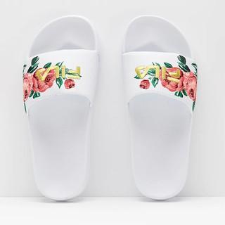 ~Footwear Corner 鞋角~FILA Embroidery Slide Des