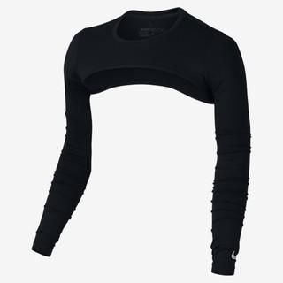 藍鯨高爾夫 2017 Nike新品 抗UV披肩袖套 /黑