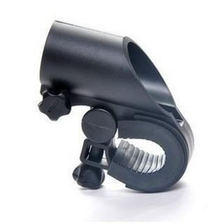 自行車前燈夾 單車手電筒燈架 車燈固定座電筒夾槍型夾