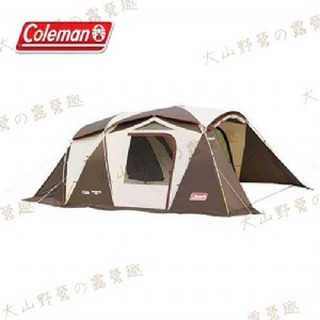【大山野營-露營趣】中和安坑 Coleman CM-22112 氣候達人2-ROOM STD 別墅帳 隧道帳 網屋