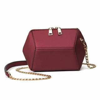 WJ專賣包包2017新款簡約菱形小包包女包