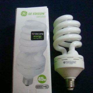Edison美國奇異照明45W大螺旋燈泡
