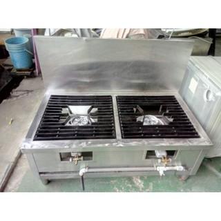 二手 設備高價收購 國際二手貨中心---雙口平頭湯爐 高湯爐 快速爐 廚房必備款