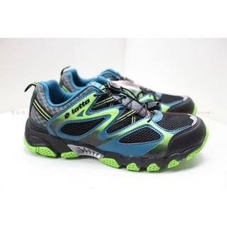 【運動熱】LOTTO 樂得 LT6AMW3580 男鞋 水陸兩用鞋 運動鞋 越野鞋 鬆緊束帶 黑綠