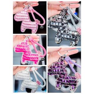 (內有多圖)韓國愛馬仕小馬水鑽流蘇愛心BV編織繩兔毛毛球鑰匙圈吊飾掛飾機車汽車吊飾