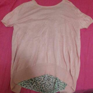 粉色豹紋衣