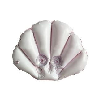 浴枕頭貝殼形SPA充氣背部頸部