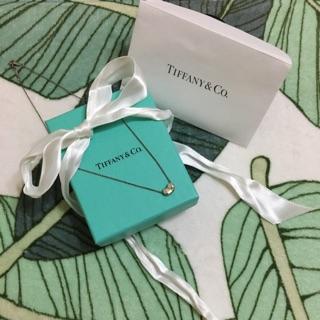 Tiffany&Co經典相思豆純銀項鍊