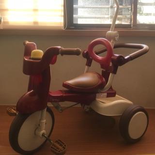 日本 iimo %2301 一代折疊兒童安全三輪車