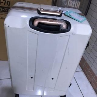 二手 LEGEND WALKER 鋁框硬殼行李箱 29吋 白