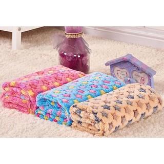 PETSTYLE 寵物毛毯狗窩墊狗狗毯子 保暖毯子加厚珊瑚絨水貂絨和各種