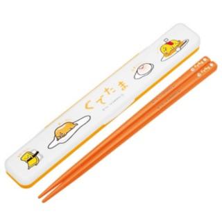 日本限定 蛋黃哥環保筷 收納盒