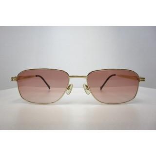 【中國眼鏡】CHARRIOL 夏利豪 紳士 設計 品味框 鈦 不過敏 輕 庫存框 復古 墨鏡 太陽眼鏡 粉紅 漸層 鏡片