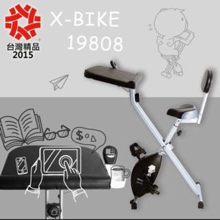 X-BIKE 19808 磁控健身車 書桌車
