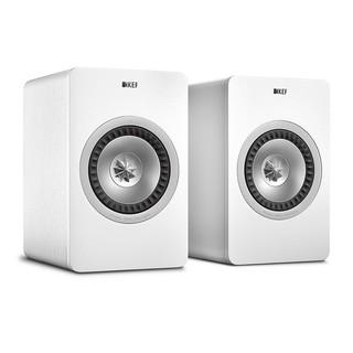 英國 KEF X300A Wireless主動式同軸書架喇叭(白色款)