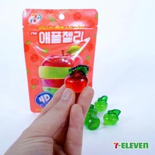 (4/22韓國連線) 韓國熱賣 7-11限定 4D立體造型 蘋果軟糖 青蘋果軟糖