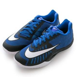 NIKE 男籃球鞋HYPERLIVE EP 黑藍白820284 400 哈登 3400