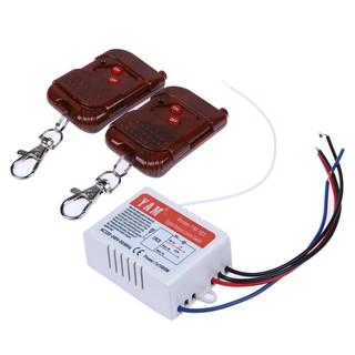 生活家電 遙控開關單路遙控開關 220V單路遙控開關 一路遙控開關 雙遙控一路遙控
