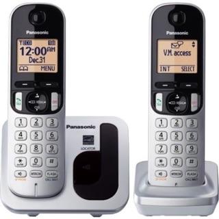 Panasonic 國際牌 DECT 雙子機 數位無線電話 KX-TGC212