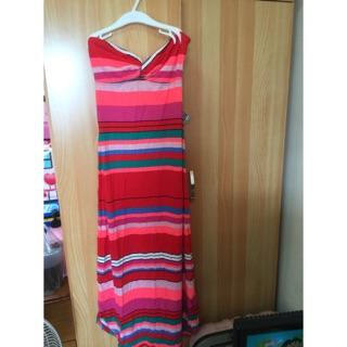 全新roxy 平口洋裝