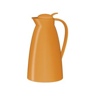 (現貨)alfi愛麗飛 玻璃內膽保溫壺 塑料 繽紛橘 1.0 L(原價1100)