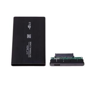 【現貨】外接2.5寸 USB 2.0 SATA移動硬碟盒 最大支持3TB