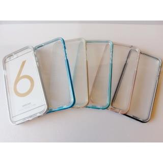 鋁框加透明軟背蓋手機殼iPhone 6 6s iPhone 6plus 6splus 手