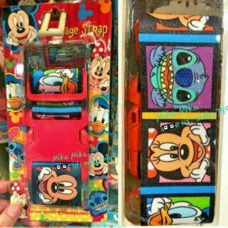☆Mika☆ 香港迪士尼 米奇 米妮 唐老鴨 史迪奇 旅行箱束帶 行李帶 行李束帶 綁帶