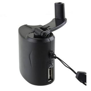 手機緊急充電器USB手搖發電機