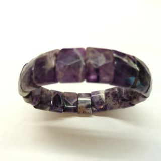 千層紫水晶手排