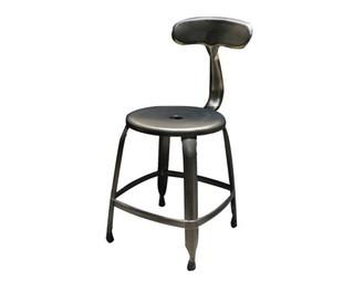【晴品戶外休閒傢俱館】鯨魚造型鐵餐椅工業風 餐椅 休閒椅 餐椅