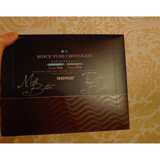 現貨不用等~日本波浪巧克力~ROYCE 80%微苦~90%苦黑巧克力曲片40枚