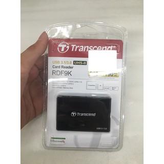全新公司貨現貨不用等 TRANSCEND 創見 RDF9 USB 3.1/3.0 UHS-II讀卡機