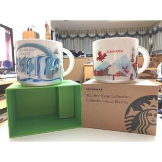 Starbucks 星巴克 尼加拉瓜/加拿大城市限定馬克杯