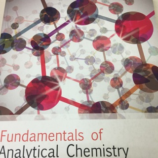 Fundamental of analytical chemistry