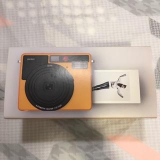 全新 Leica Sofort 徠卡 橘色 拍立得 FUJI富士底片可用