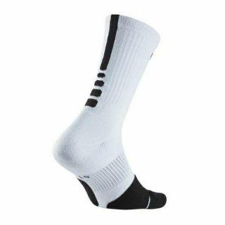 Nike Men's Dry Elite 1.5 Crew Socks 菁英籃球長襪 SX5593-100 size S