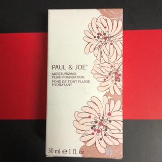 PAUL&JOE糖瓷絲潤橙花粉底乳