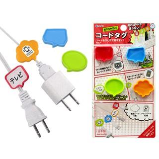 ♥EmmaWoo♥ 生活雜貨︱日本 inomata 電線標示夾 電線標示牌 標示夾 標示牌