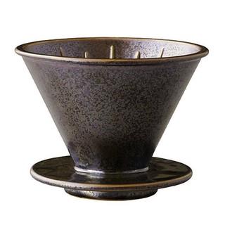 【多塔咖啡】免運 KINTO SCS-S01 陶瓷濾杯 2-4人用-金屬黑( hario v60可參考) 錐形濾杯