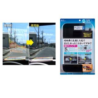 【威力日本汽車精品】SEIKO 偏光阻斷遮陽板 (小型車用 - M) EE-67